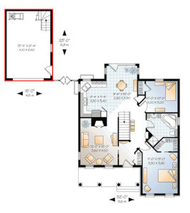 Unraveling your home s floor plan with feng shui shen for Garage feng shui