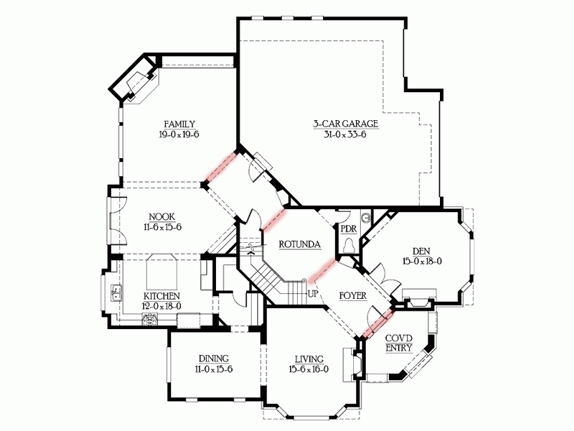 Floor plans matter shen men feng shui consulting for Corner lot house plans
